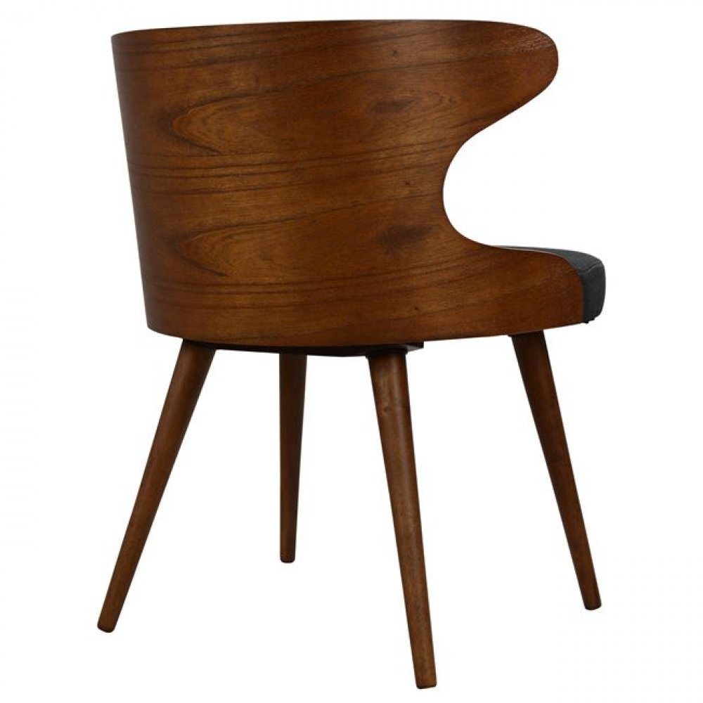 Nussbaum farbe holz ay46 hitoiro for Barhocker outlet